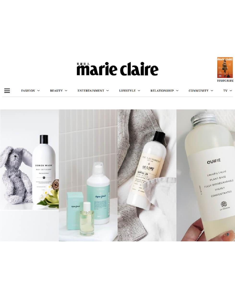 媒體報導 | 美麗佳人 Marie Claire